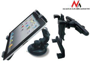 Samochodowy uchwyt do tabletu ABS Maclean MC-589AB
